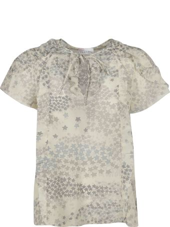 RED Valentino Star Print Top