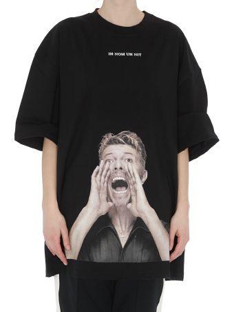 ih nom uh nit Bowie Scream Print T-shirt