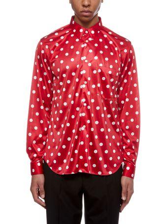 Comme Des Garçons Homme Plus Polka Dot Shirt