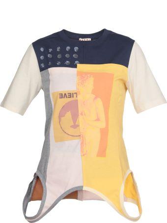 Marni T-shirt Patchwork