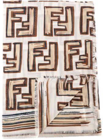Fendi Printed Maxi Scarf