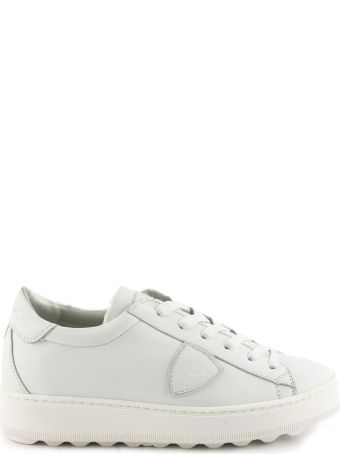 Philippe Model White Leather Madeleine Sneaker