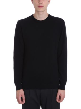 Low Brand Black Wool Sweater