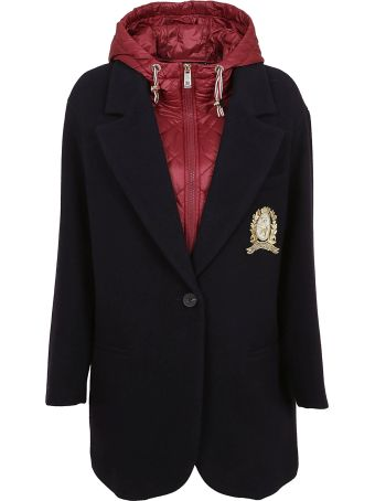Tommy Hilfiger Icons Contrast Single Breasted Coat