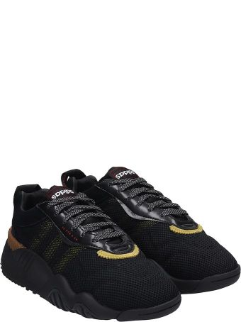 Adidas Originals by Alexander Wang Turnout Trainer Sneakers In Black Tech/synthetic