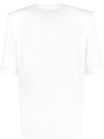 The Attico Cotton Crew-neck T-shirt