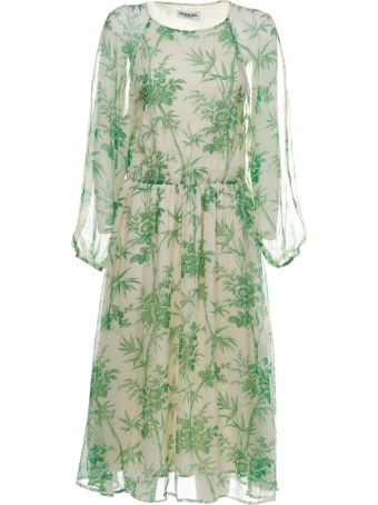 Essentiel Botanical Print Dress