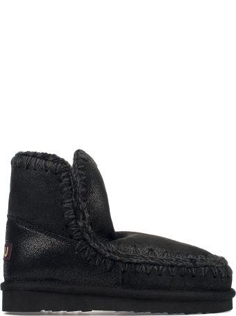 Mou Black Eskimo 18 Low Boot