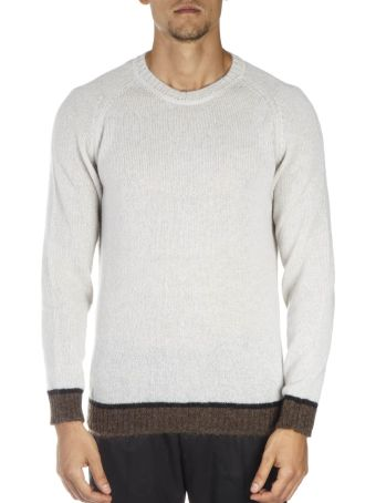 Low Brand Beige & Brown Wool Sweatshirt