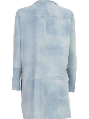 Sylvie Schimmel Leather Overcoat