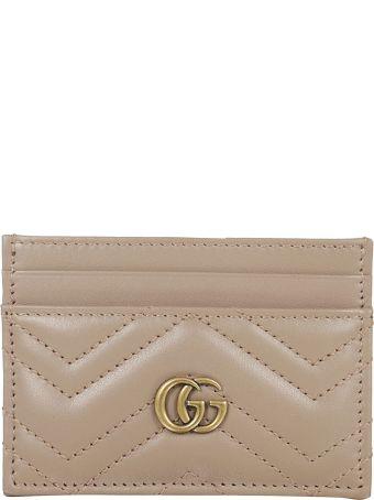 Gucci Gg Chevron Card Case