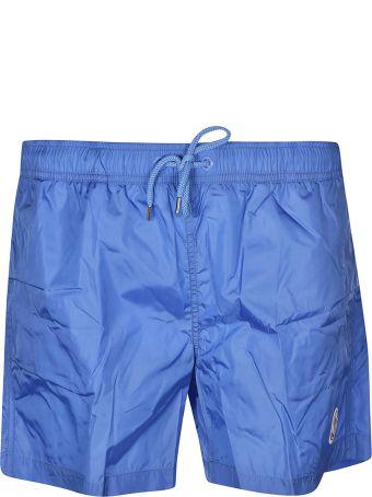 Moncler Logo Patched Swim Shorts