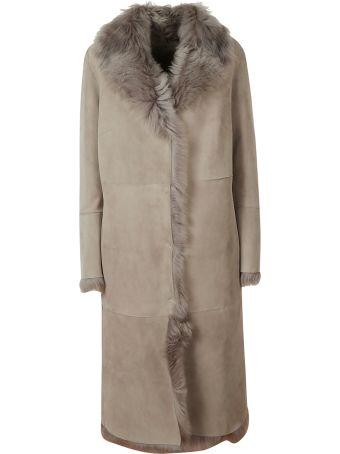 Salvatore Santoro Fur Trimmed Coat