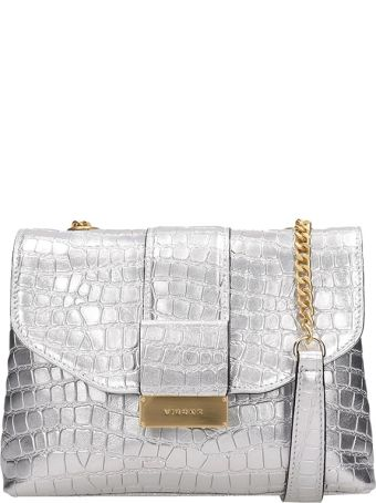 Visone Silver Leather Alice Bag