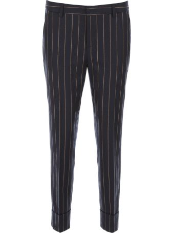 Closed Pinstriped Trousers