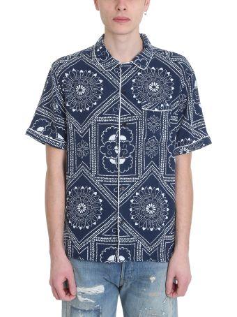Levi's Vintage Clothing Pajama Blue Cotton Shirt