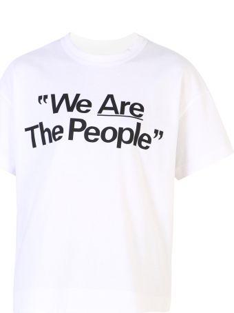 Sacai Printed Cotton T-shirt