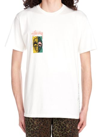 Stussy 'masks' T-shirt