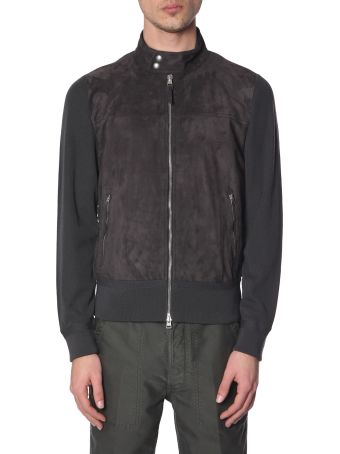 Tom Ford High Neck Jacket With Zip