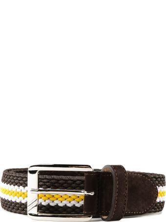 Moreschi Patterned Belt
