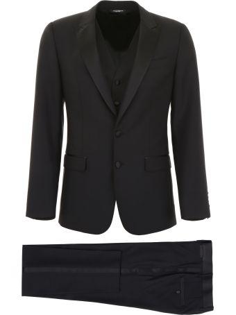 Dolce & Gabbana Martini Three-piece Suit