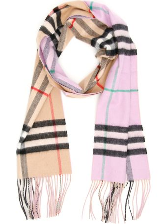 Burberry Reversible Giant Check Scarf