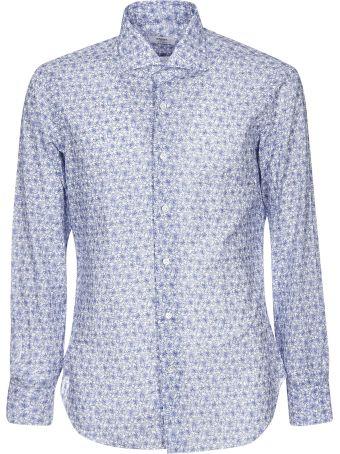 Barba Napoli Rose Print Shirt