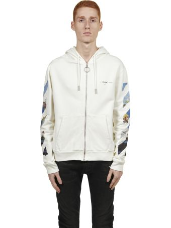 Off-White Zipped-up Hoodie