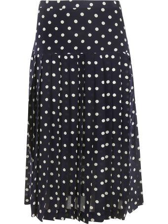Alessandra Rich Polka Dot Skirt