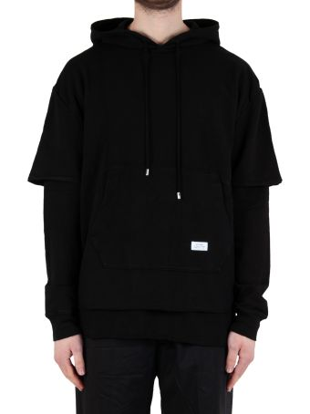 Stampd Double Layered Hoodie - Black