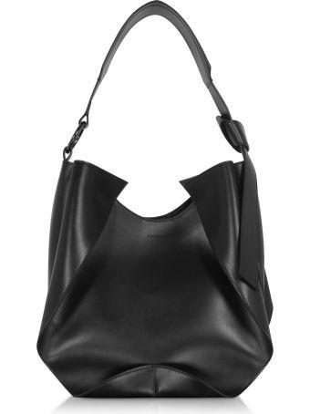 Giaquinto Giselle Leather Shoulder Bag