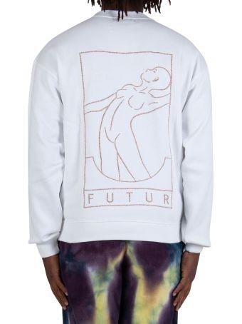 Futur Outline Crew - White