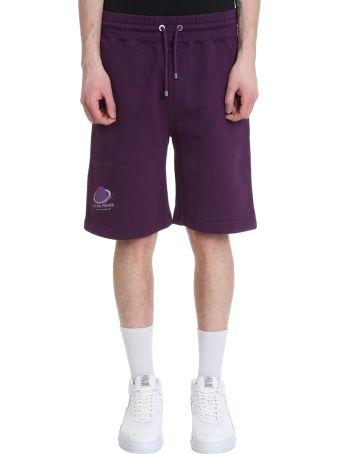 Filling Pieces Purple Cotton Shorts