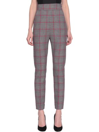 WANDERING Flannel Check Pants