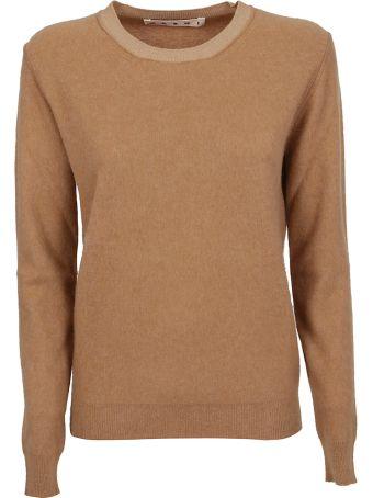 Marni Contrast Collar Sweater