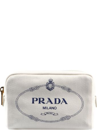 Prada Printed Zip Around Purse