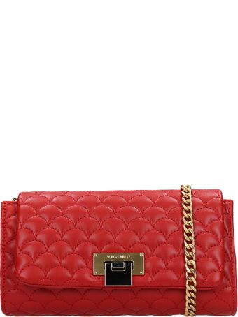 Visone Red Quilted Patty Bag