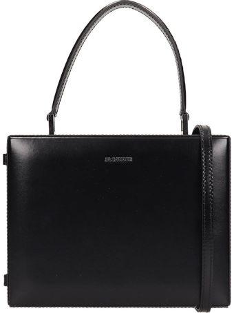 Jil Sander Case Small Leather Cross-body Bag