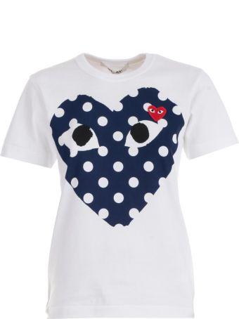 Comme des Garçons Play Printed Heart T-shirt