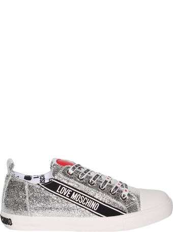 Love Moschino Logo Patch Sneakers