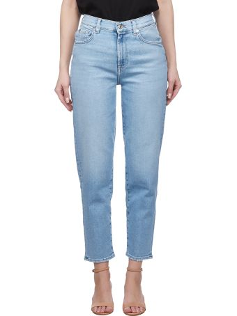 7 For All Mankind Tapered Jeans
