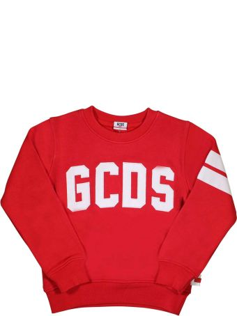 GCDS Mini Red Sweatshirt Gcds