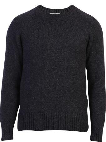 Ami Alexandre Mattiussi Grey Classic Sweater