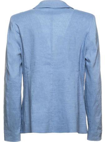 Seventy Seventy Light Blue Blazer Jaket