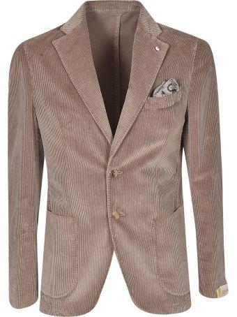 Luigi Bianchi Mantova Single Breasted Blazer