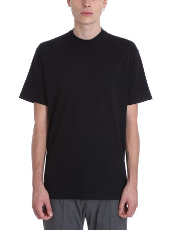 Low Brand Black Cotton T-shirt