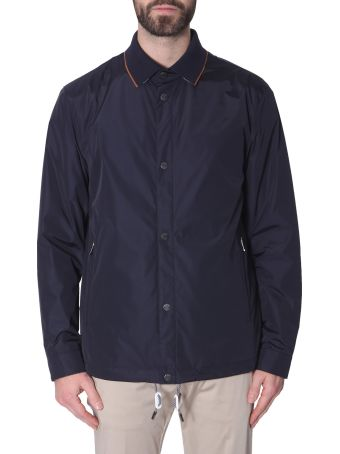 Z Zegna Jacket In Technical Fabric
