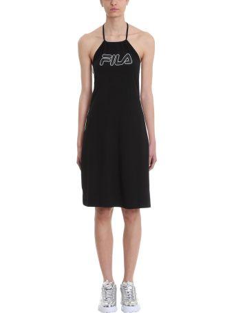 Fila Amina Black Cotton Dress