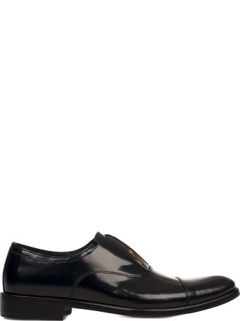 Seboy's Black Leather Derby