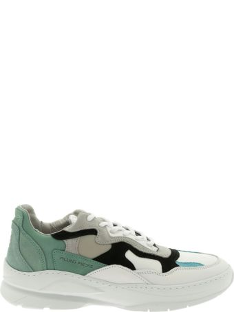 Filling Pieces Sneaker Leather Low Fade Cosmo Infinity Mint